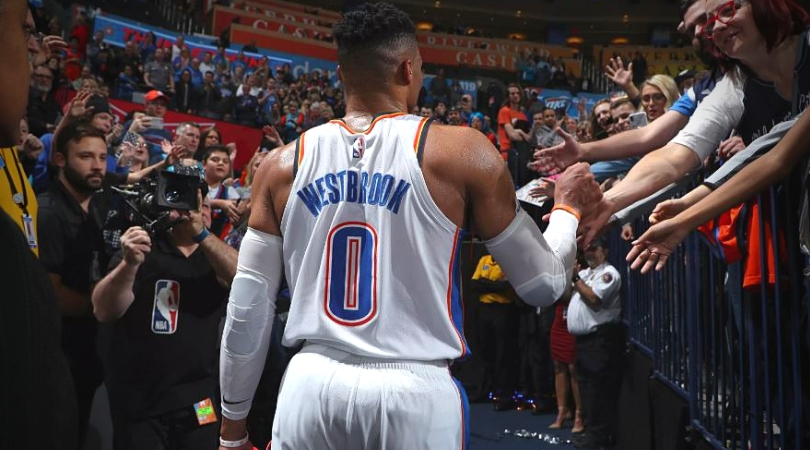 Russell Westbrook Traded to Rockets for Chris Paul, Draft Picks