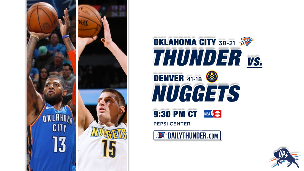 Preview 60 of 82: Thunder @ Nuggets
