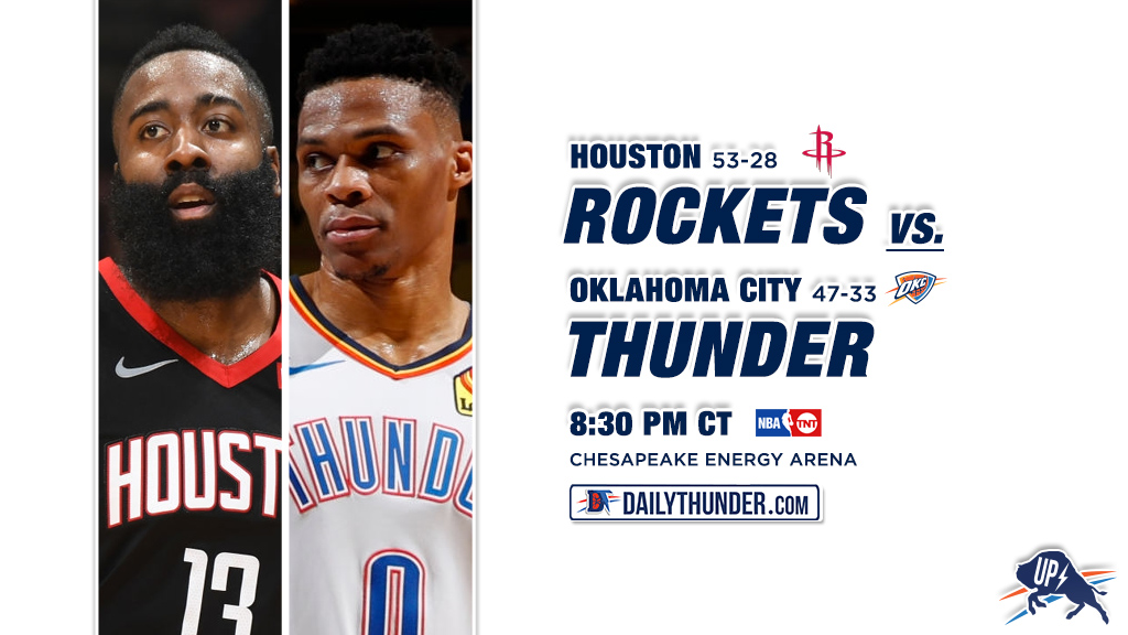 George hits game-winner as Thunder rally to beat Rockets