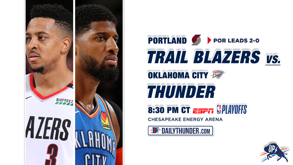 Wake and Rake: Sharps Betting Trail Blazers-Thunder on Easter Sunday