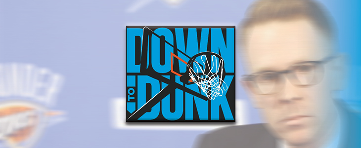 Down to Dunk Podcast: Thunder Schedule, Justin Patton, and East Dregs