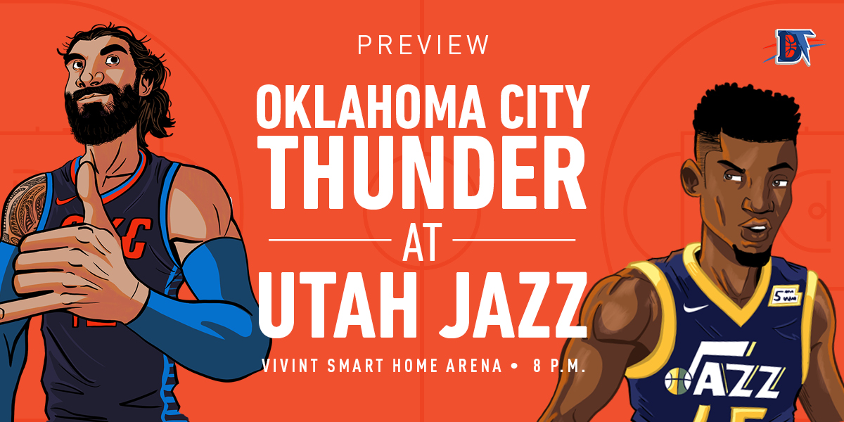 Game 1 Primer: Thunder (0-0) @ Jazz (0-0)