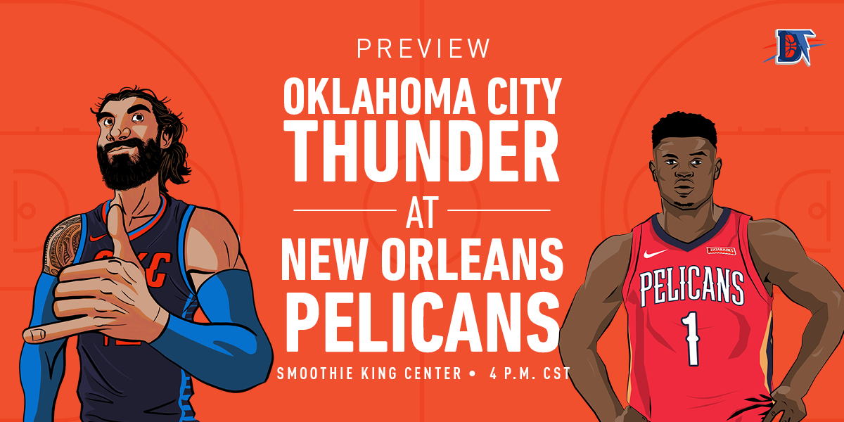 Game 19 Live Thread: Thunder (7-11) @ Pelicans (6-13)
