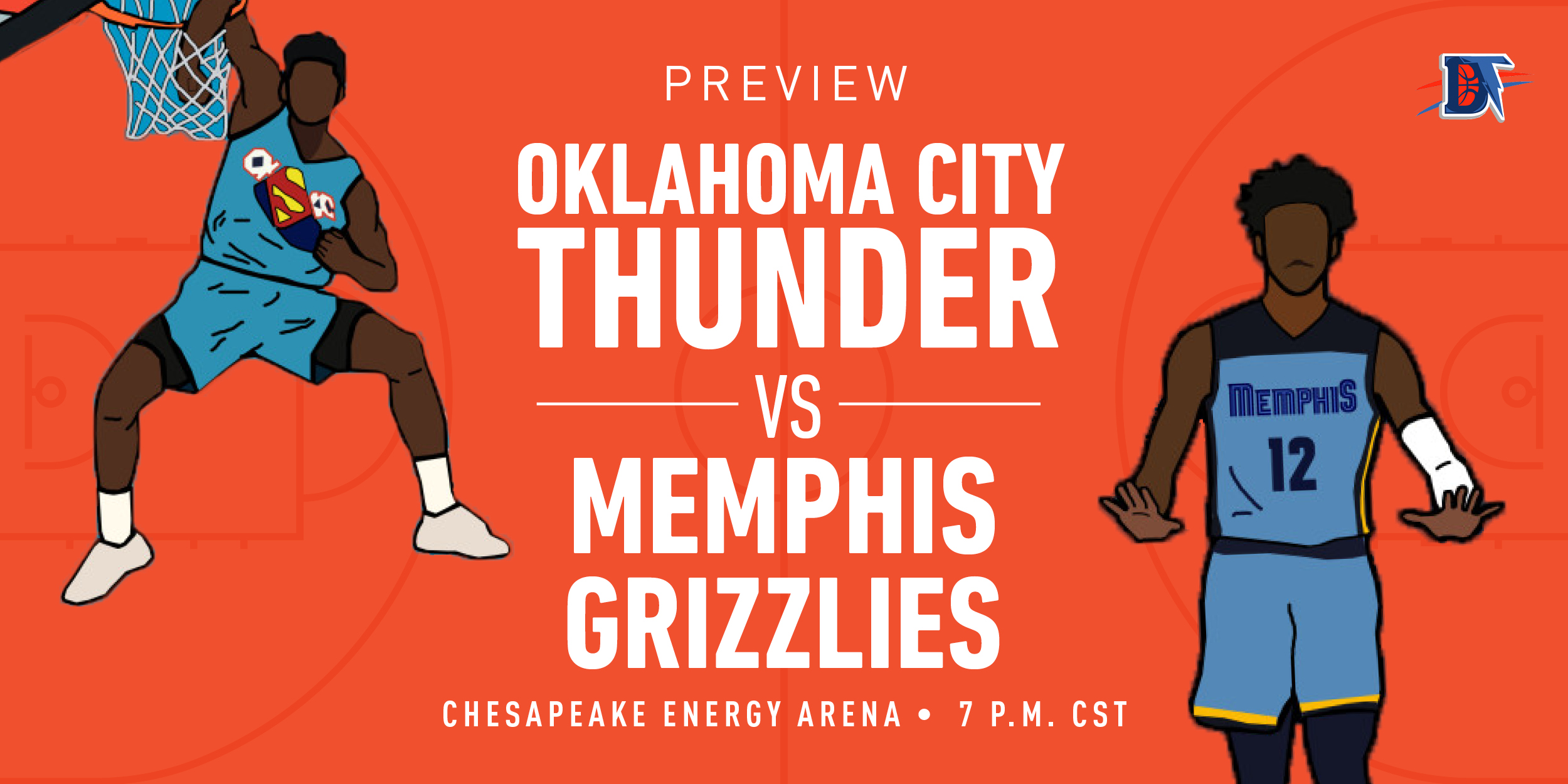 Game 27 Live Thread: Thunder (12-14) vs. Grizzlies (10-17)