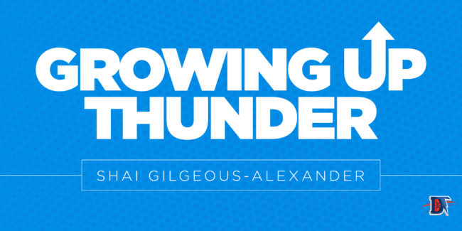 Growing up Thunder: Shai Gilgeous-Alexander is a Superstar in the Making