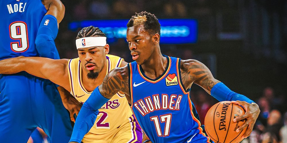 Thunder to Trade Dennis Schröder to Lakers for Danny Green, First Rounder