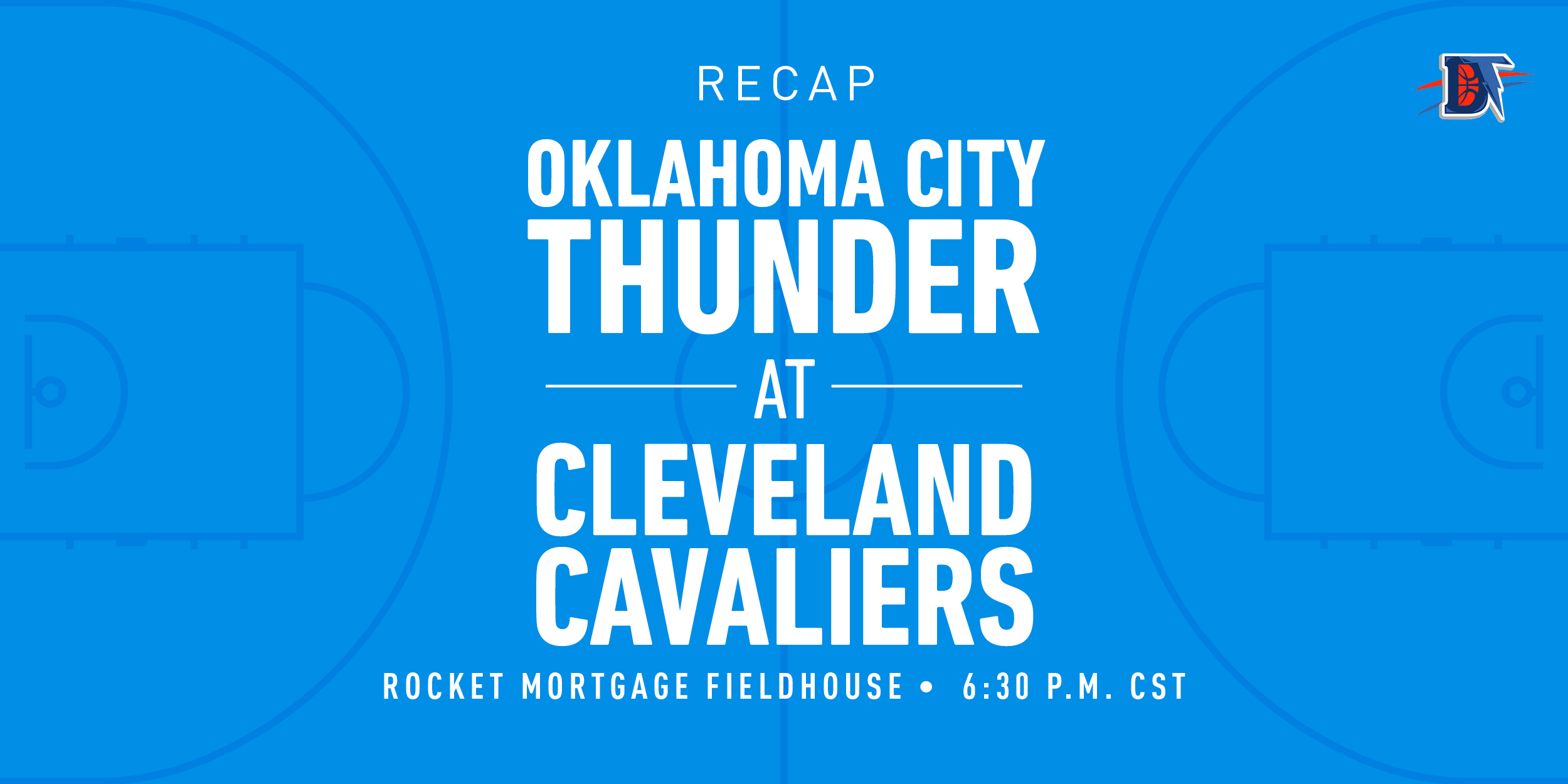 Game 30 Rapid Recap: Thunder (12-18) def. Cavs (10-21) 117-101