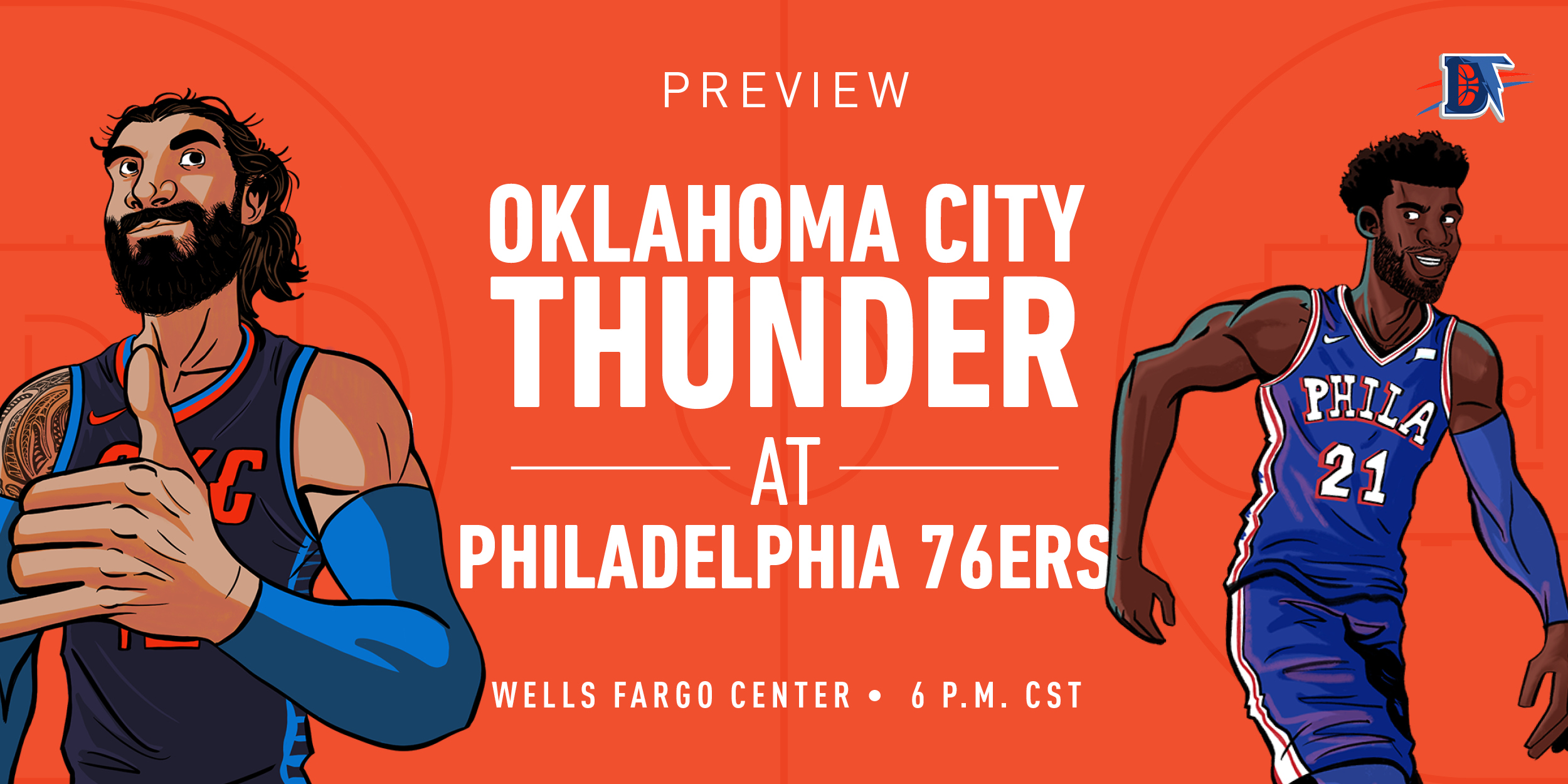 Game 36 Live Thread: Thunder (20-15) @ Sixers (23-14)
