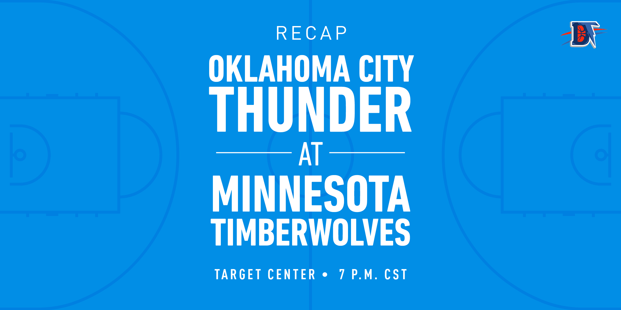 Game 40 Recap: Thunder (23-17) def. Timberwolves (15-24) 117-104