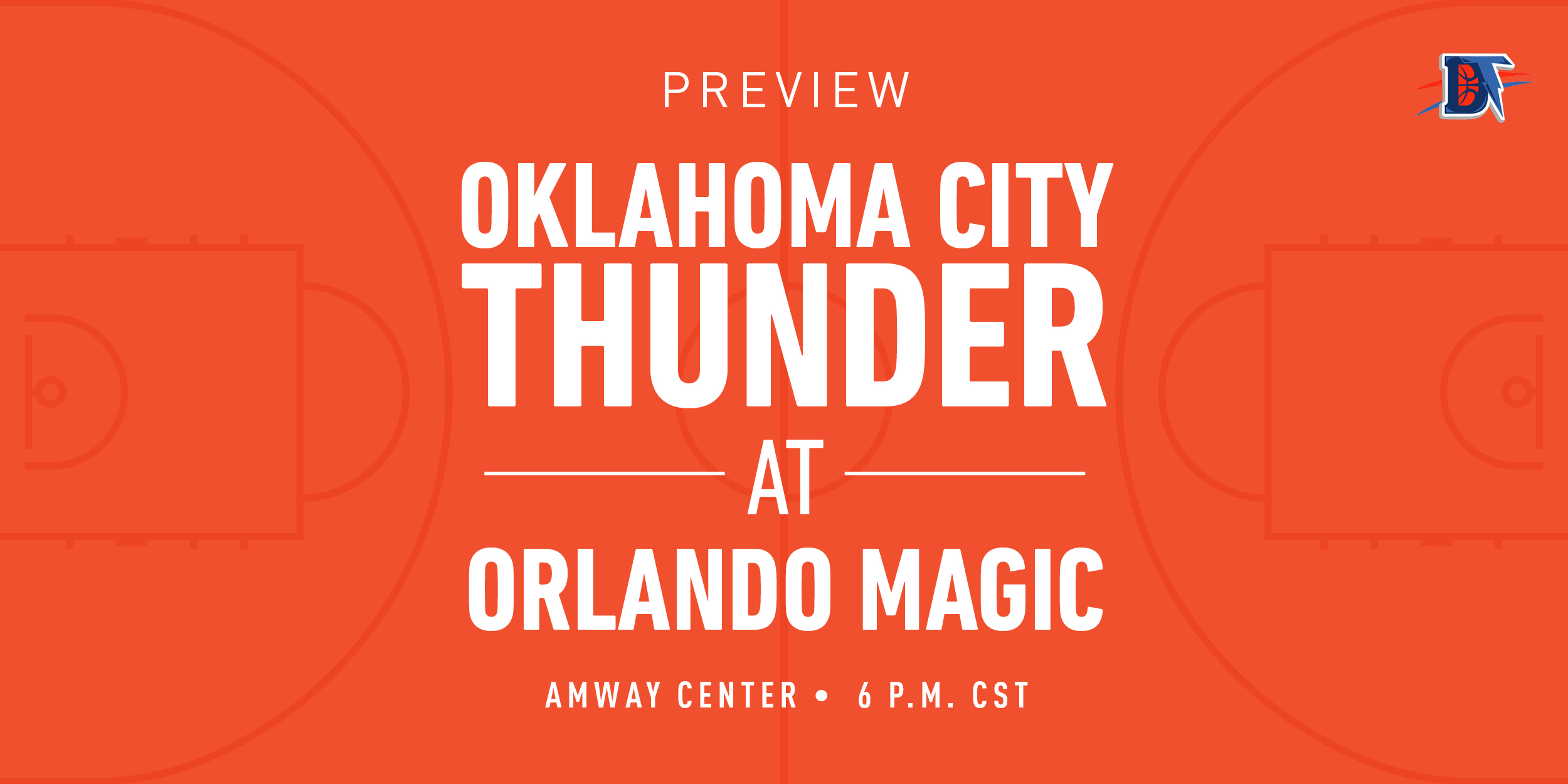 Game 45 Live Thread: Thunder (25-19) @ Magic (21-23)