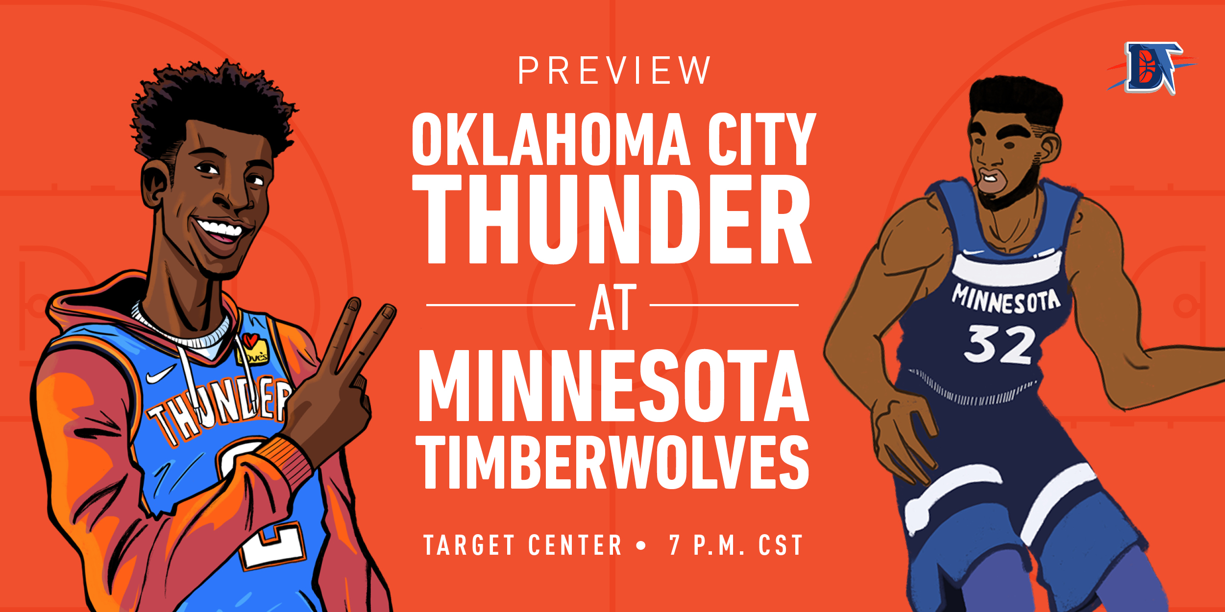 Game 47 Live Thread: Thunder (27-19) @ Wolves (15-30)