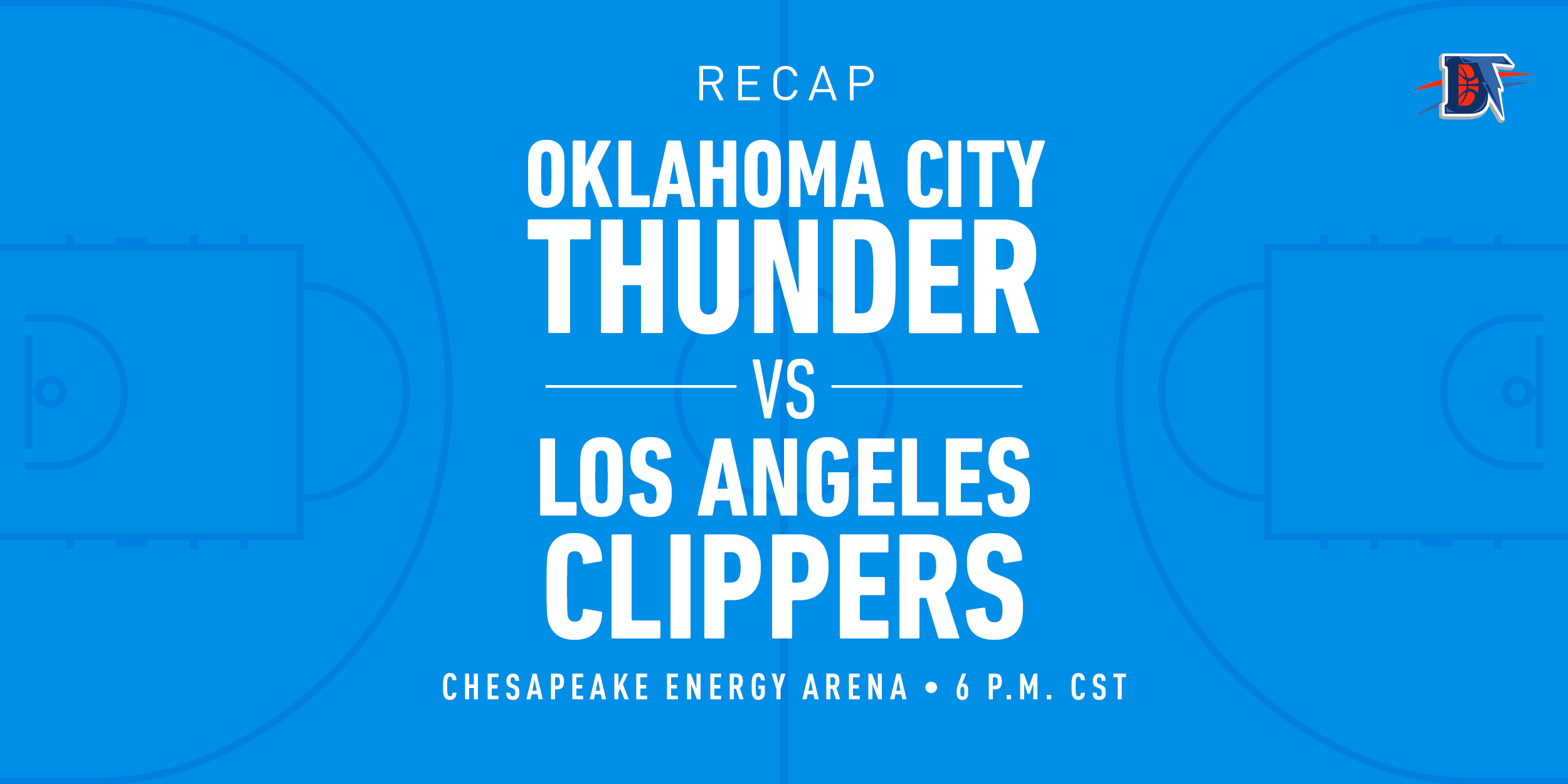 Game 29 Recap: Thunder (15-14) def. Clippers (22-10)