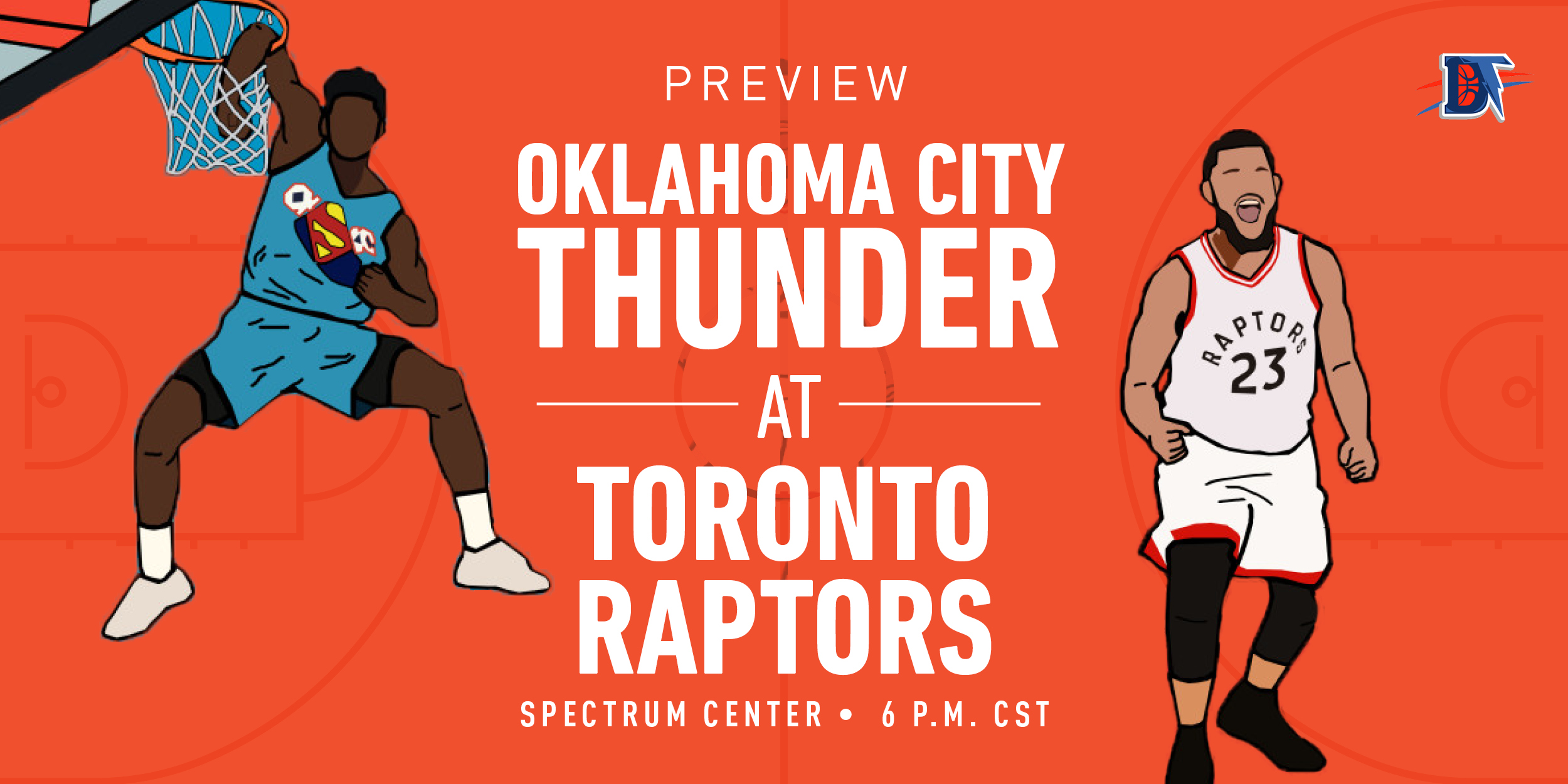 Game 32 Live Thread: Thunder (16-15) @ Raptors (22-10)