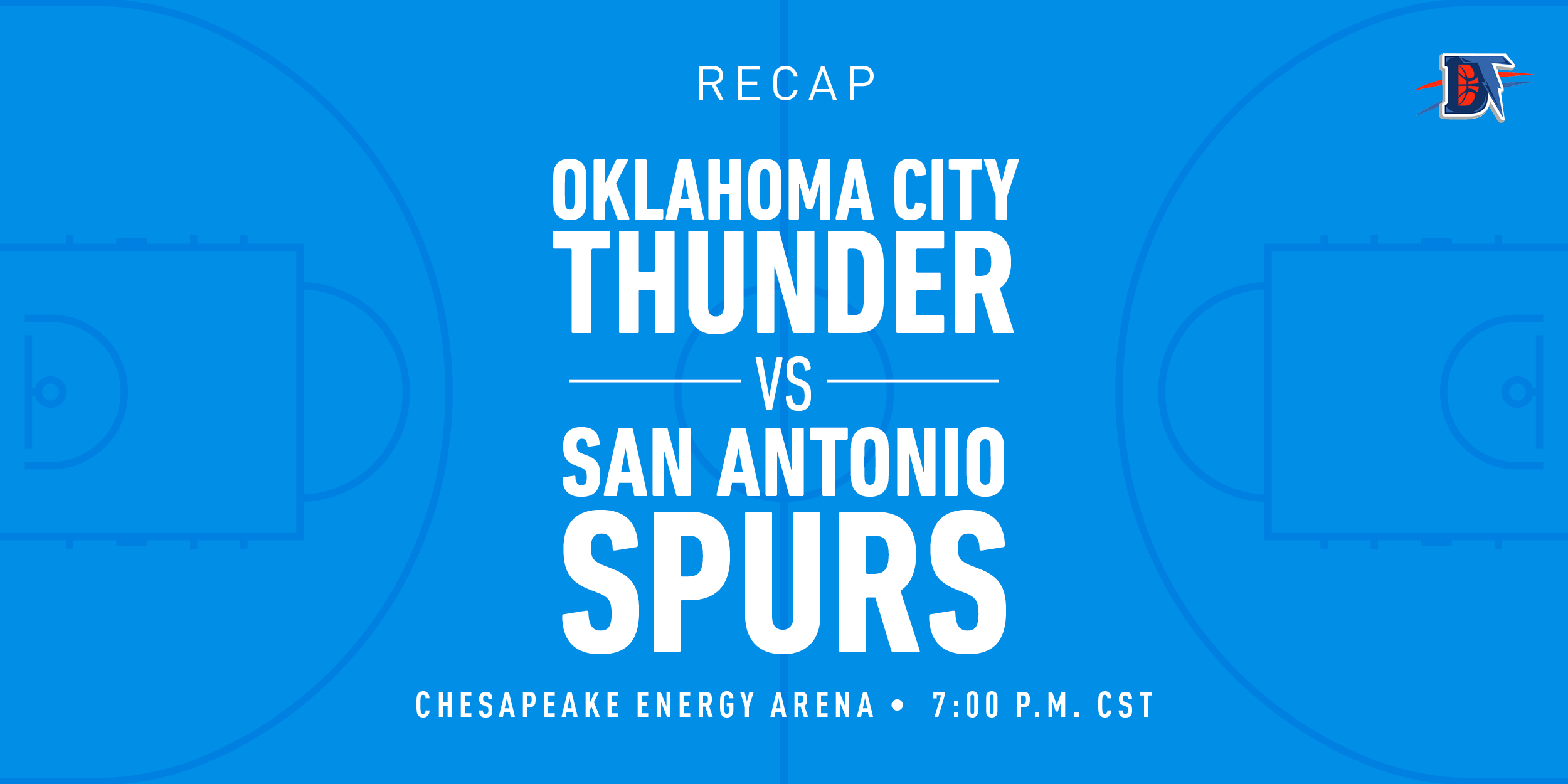 Game 54 Recap: Spurs (23-31) def. Thunder (32-22) 114-106