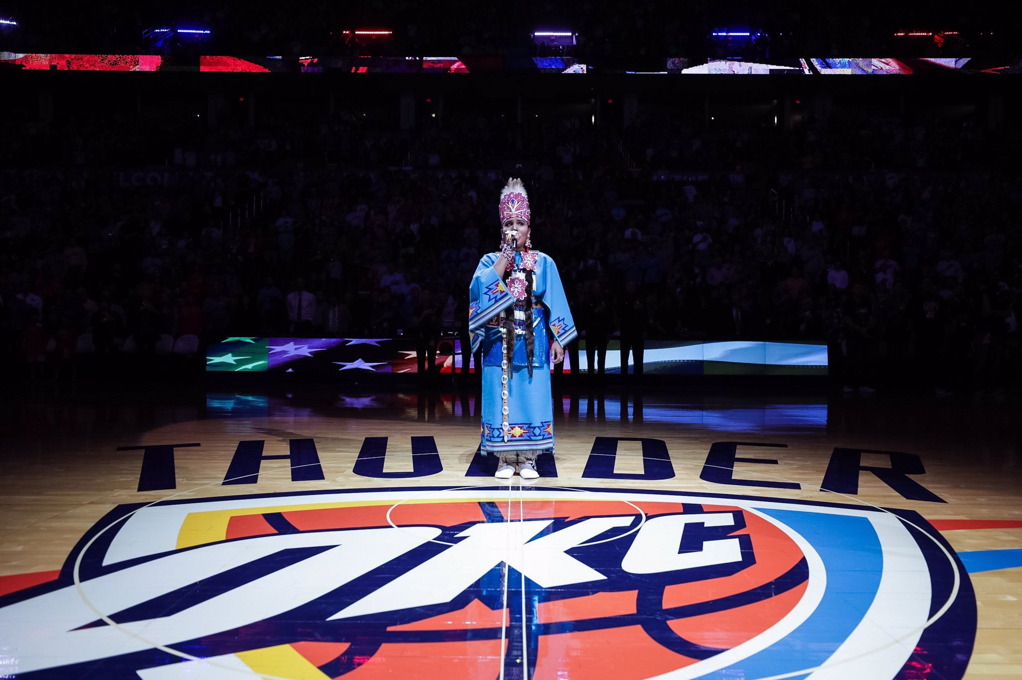 More Than a Uniform: The Thunder's Continued Dedication to Native Communities