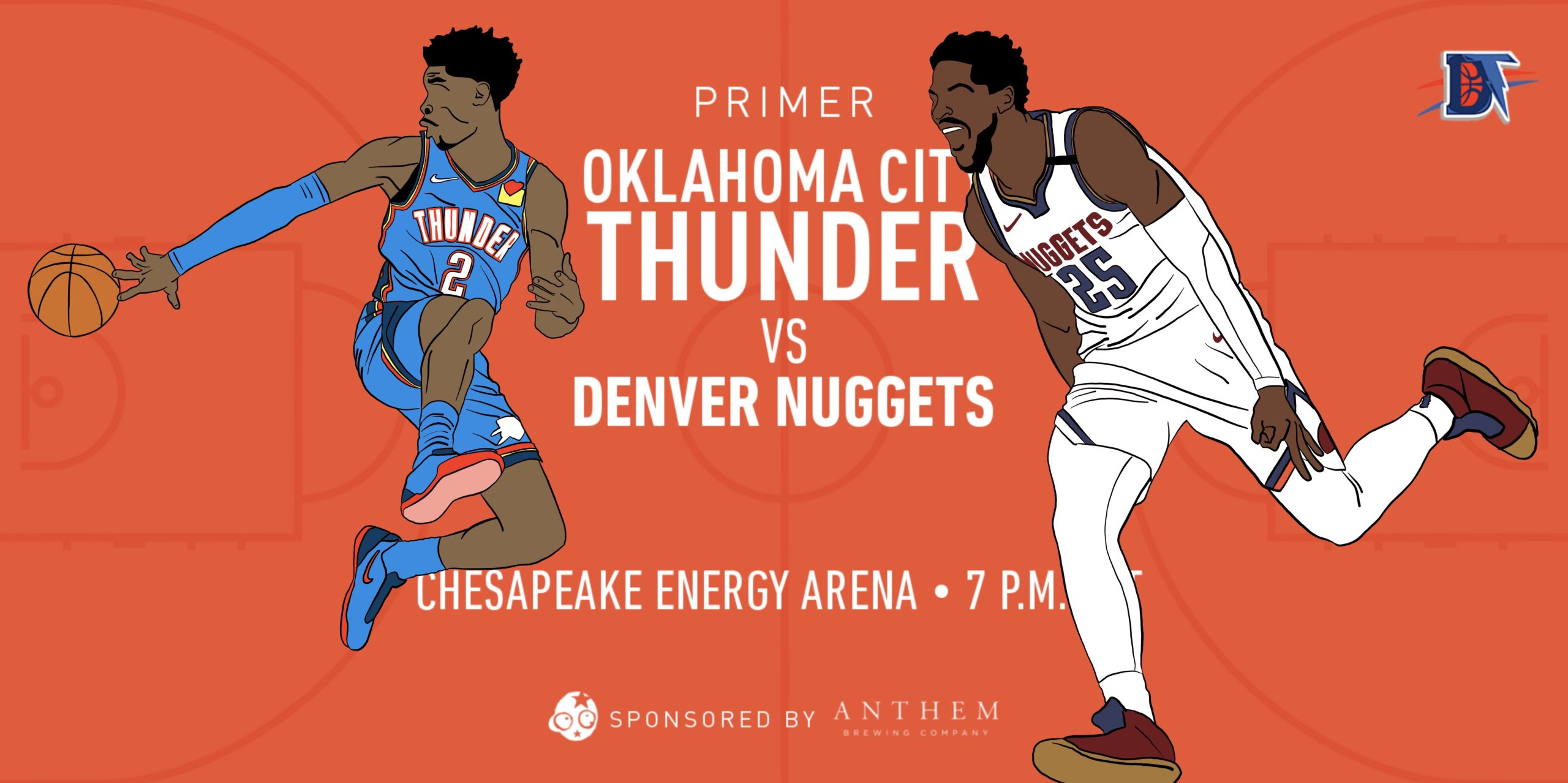 Game 56 Pregame Primer: Thunder (33-22) vs. Nuggets (38-17)