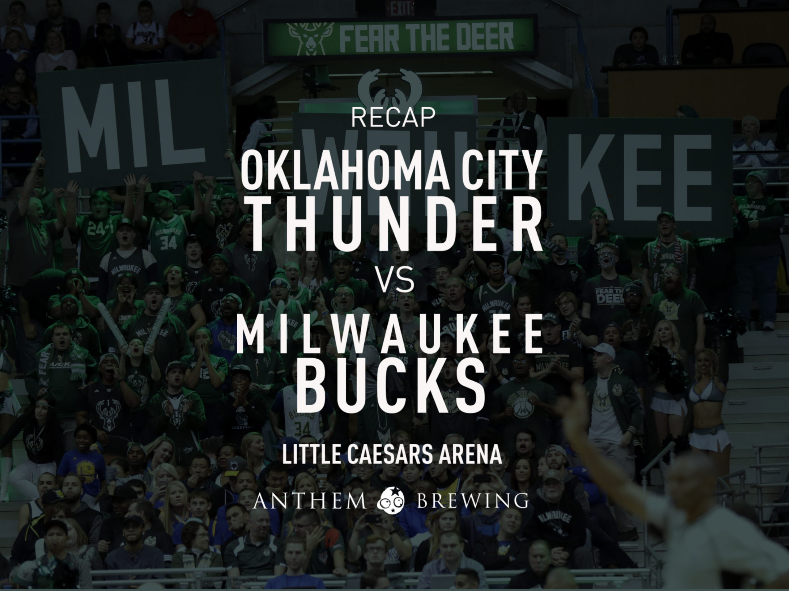 Game 60 Recap: Bucks (51-8) def. Thunder (37-23) 133-86