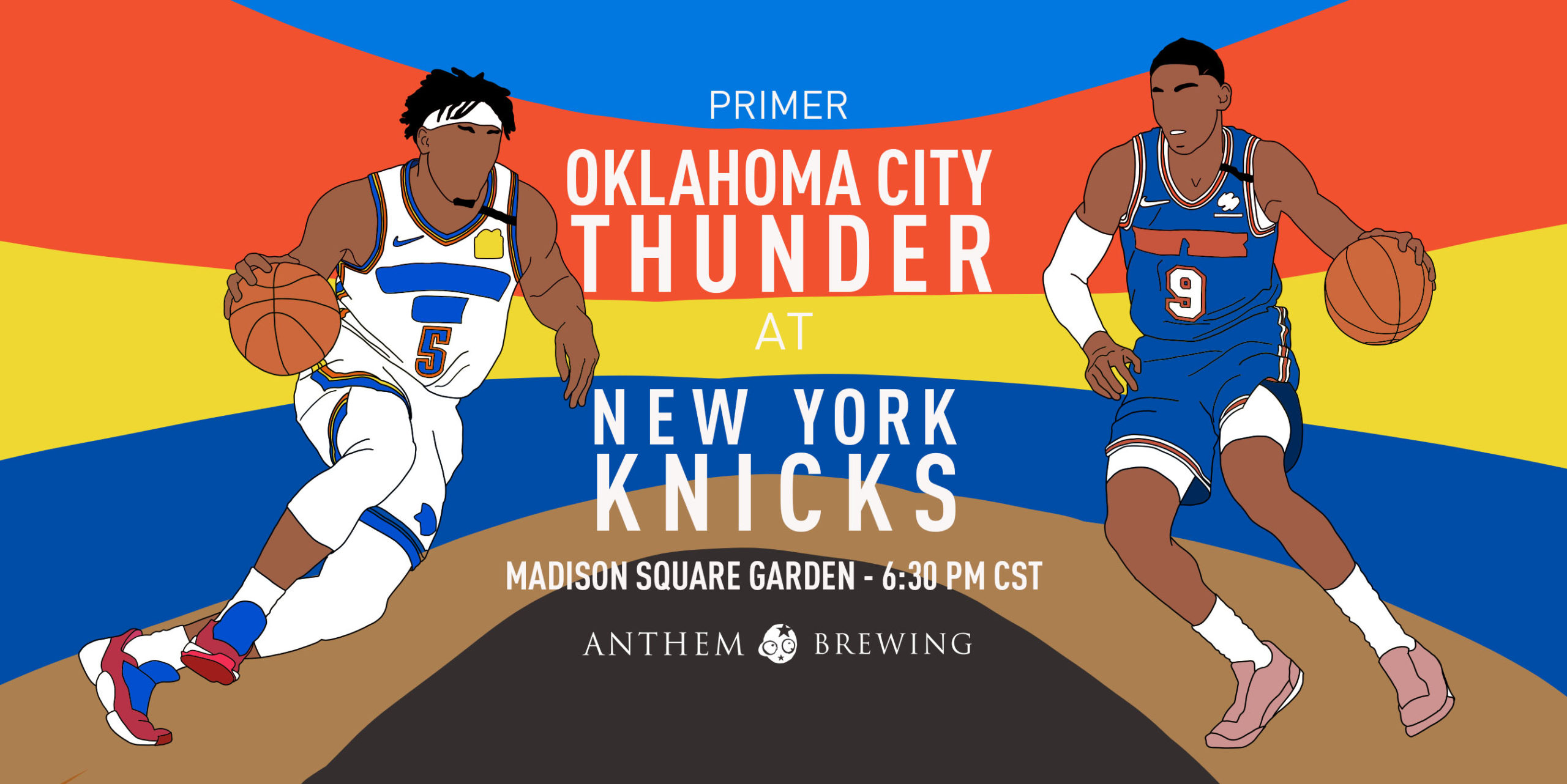 Game 63 Pregame Primer: Thunder (38-24) @ Knicks (19-43)