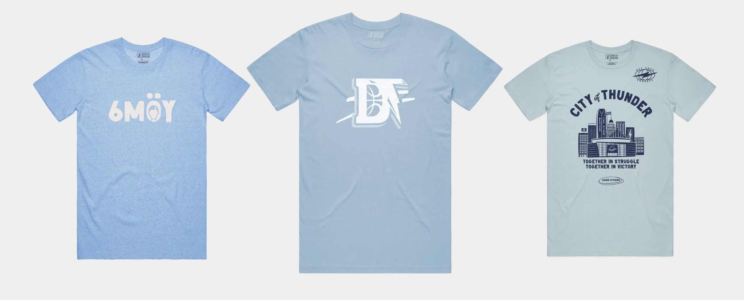 Announcing the Daily Thunder x Shop Good T-Shirt Collection
