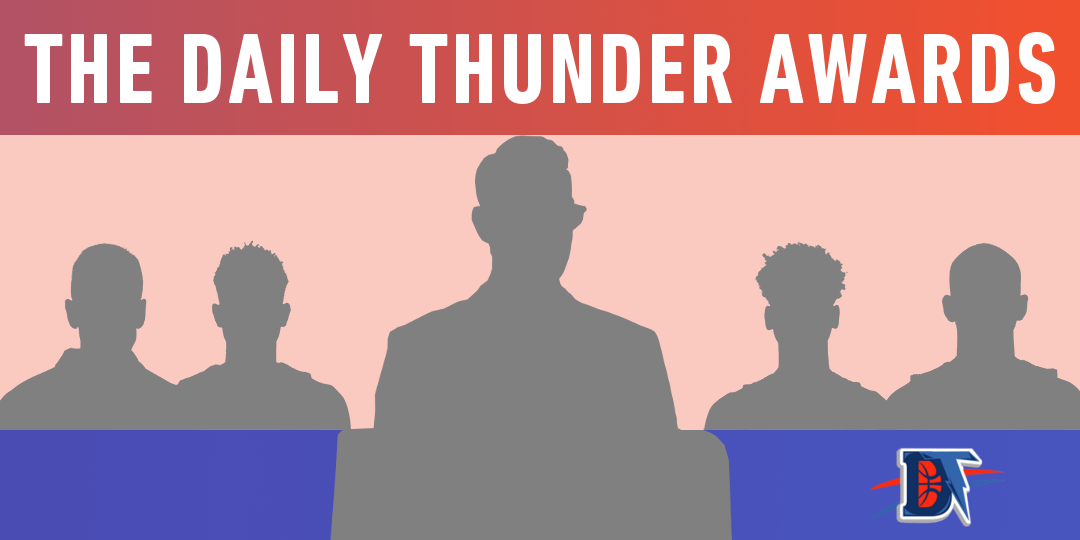 Daily Thunder's 2019-20 NBA Awards Selections