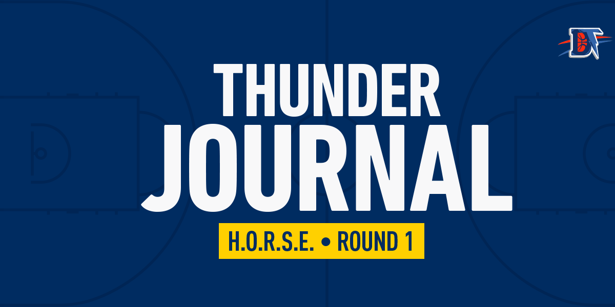 Thunder Journal: A Round of H-O-R-S-E
