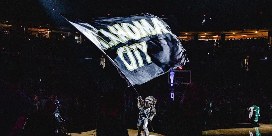 Gearing Up: Thunder Supply Face Masks to the Frontlines of Oklahoma City