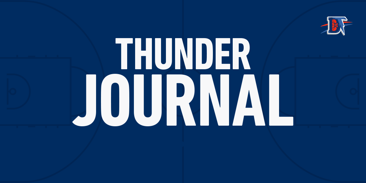 Thunder Journal: OKC's dream is to be a second haLf team