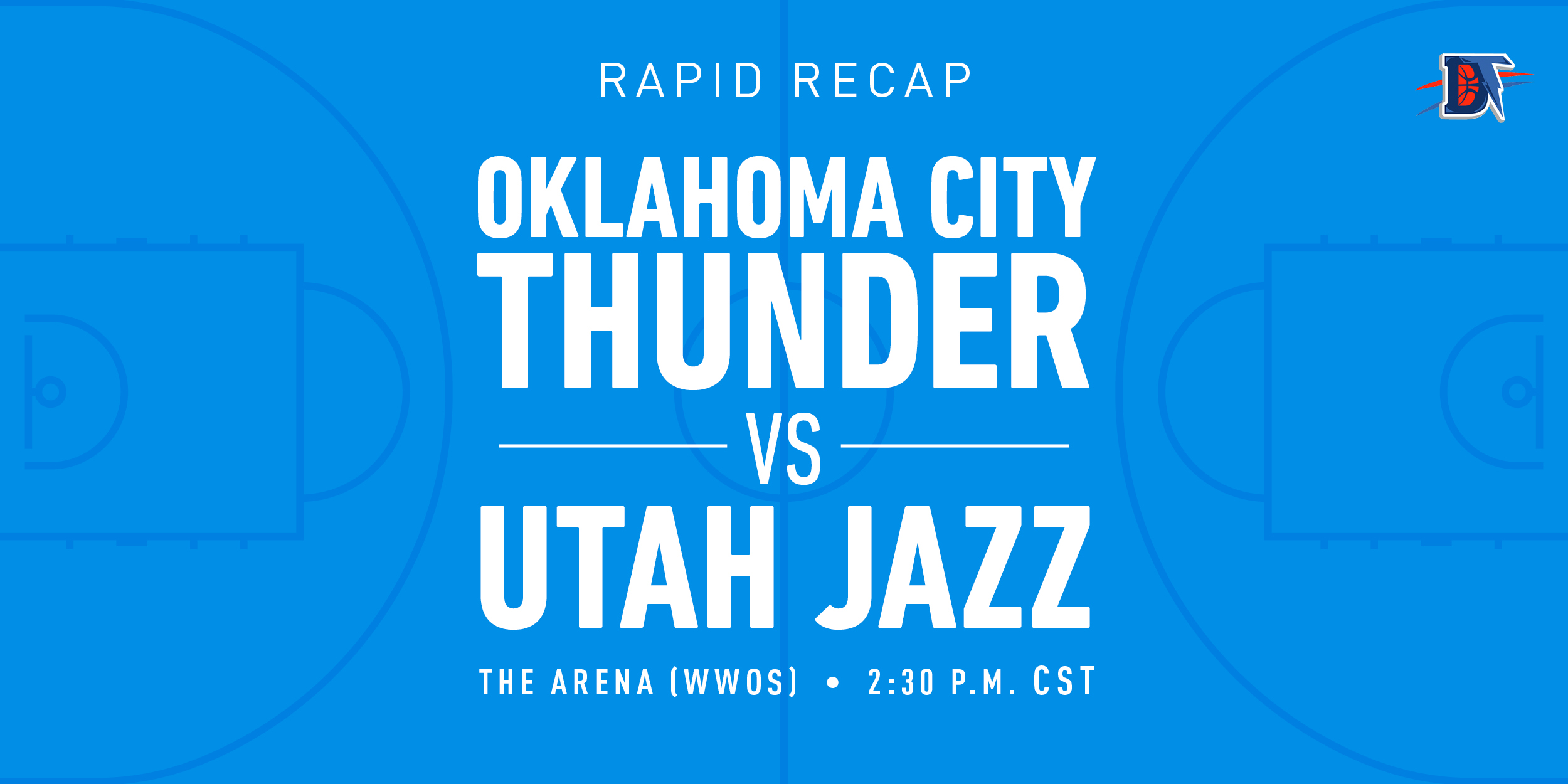 Game 65 Rapid Recap: Thunder def. Jazz (110-94)