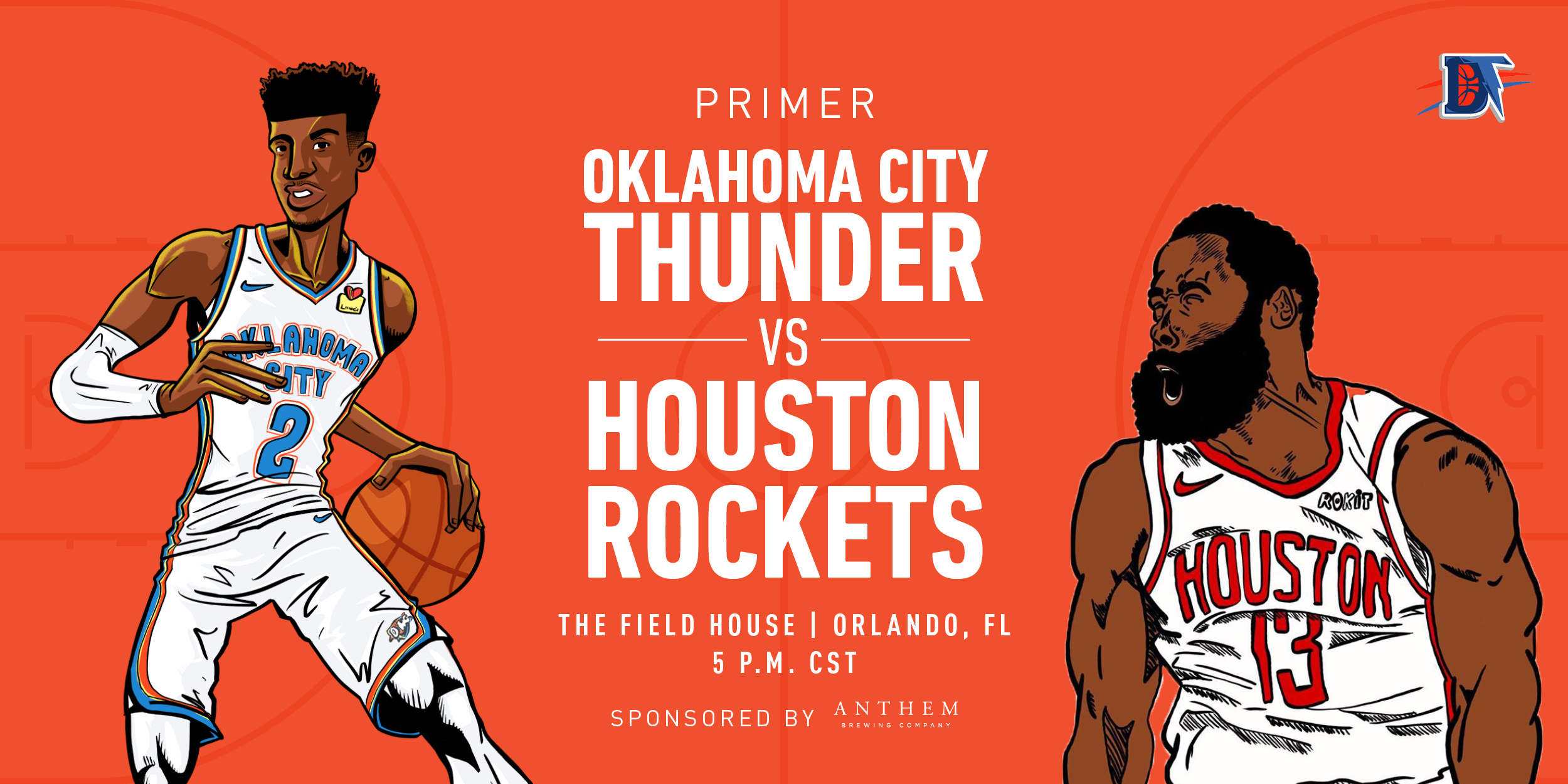 Game 3 Pregame Primer: Thunder vs. Rockets (0-2)