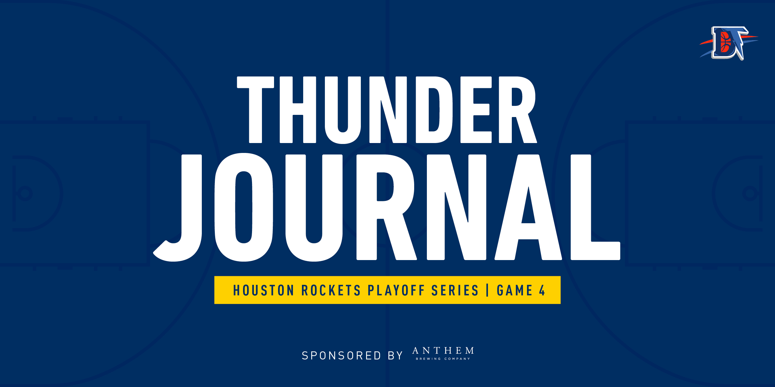 Thunder Journal: Thunder's Three Guards Greater Than Rockets Three Balls in 117-114 Game 4 Win.