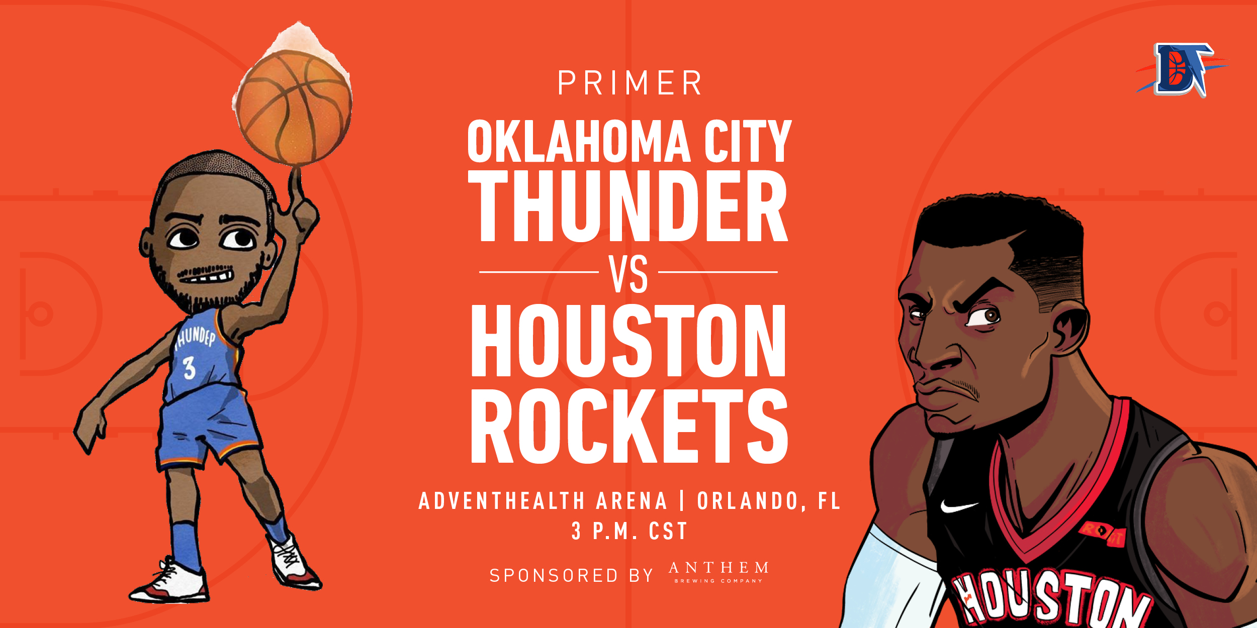 Game 4 Pregame Primer: Thunder vs. Rockets (1-2)