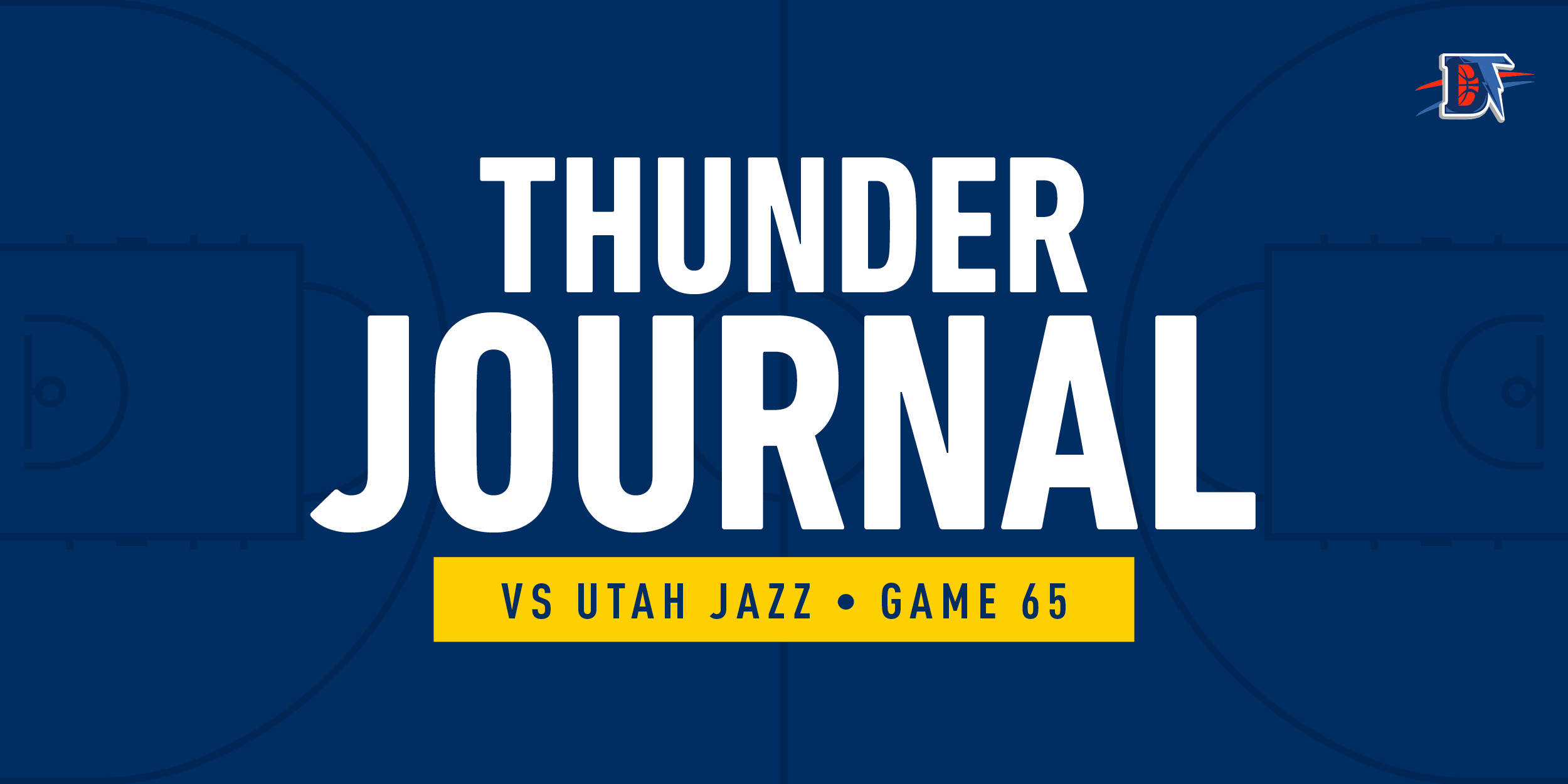 Thunder Journal: Improved OKC fades the Jazz to the tune of 110-94