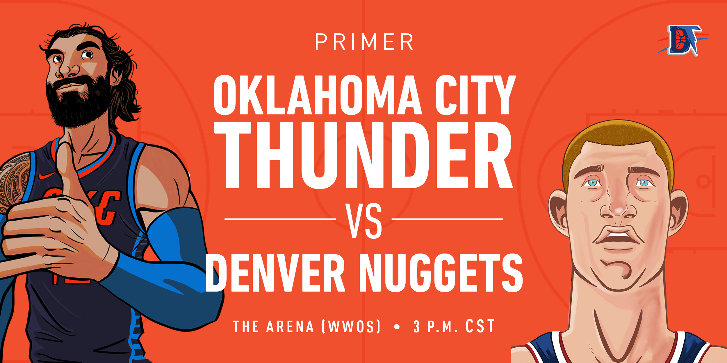 Game 66 Pregame Primer: Thunder (41-24) vs. Nuggets (43-23)