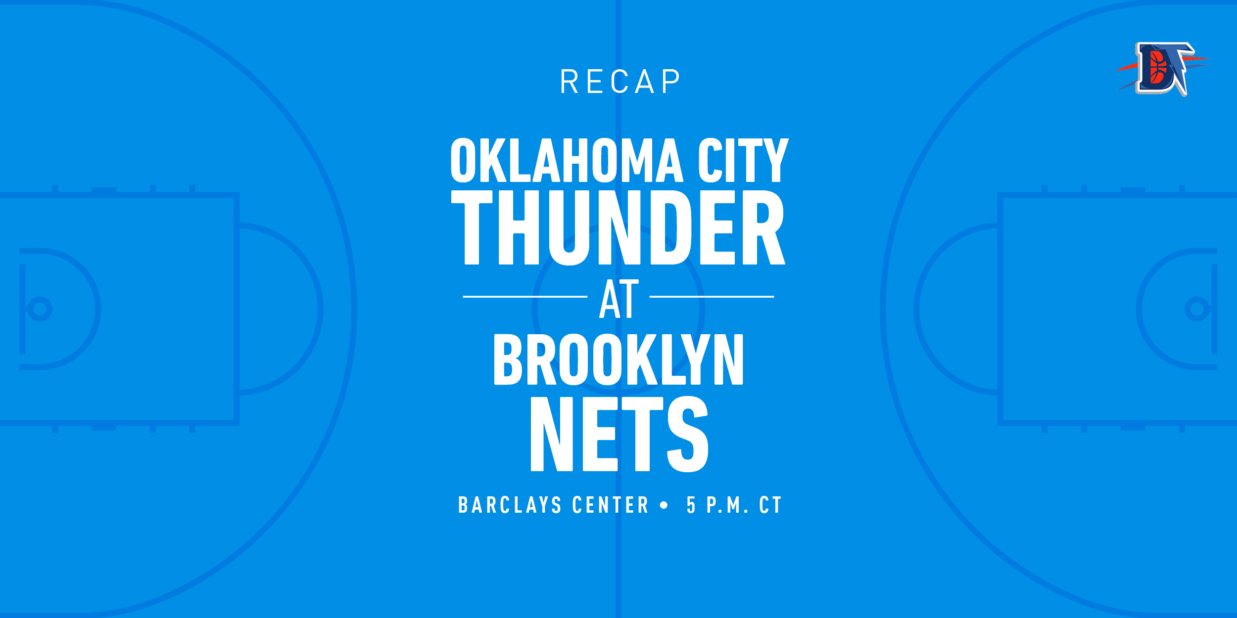Game 9 Rapid Recap: Thunder (5-4) def. Nets (5-6) 129-116