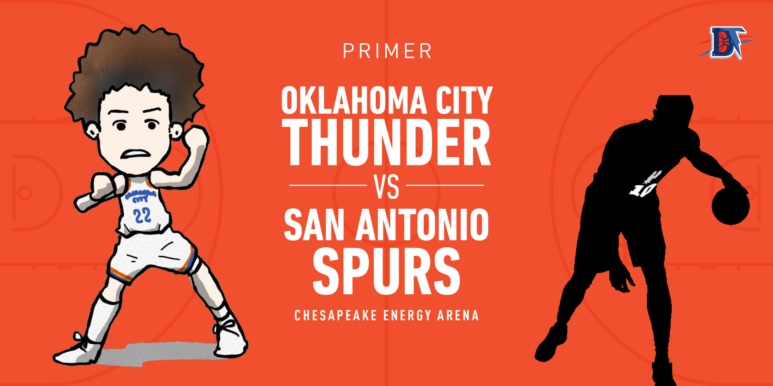 Game 32 Pregame Primer: Thunder (12-19) vs. Spurs (16-11)