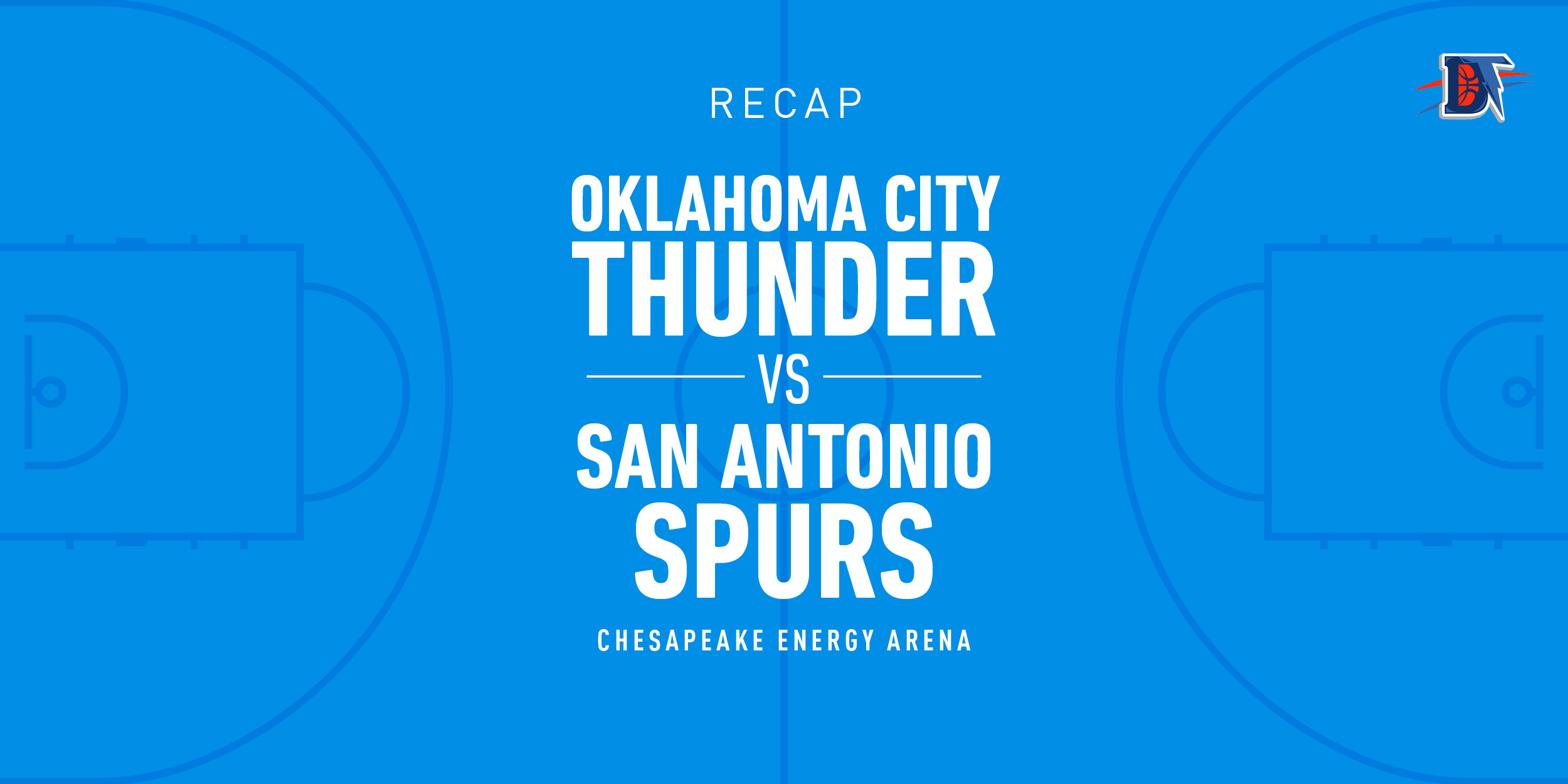 Game 36 Rapid Recap: Thunder (15-21) def. Spurs (18-14) 107-102