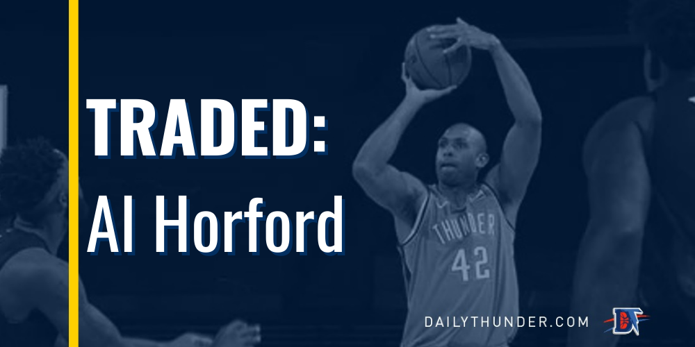 Thunder Trade Al Horford for Kemba Walker, First Round Draft Pick